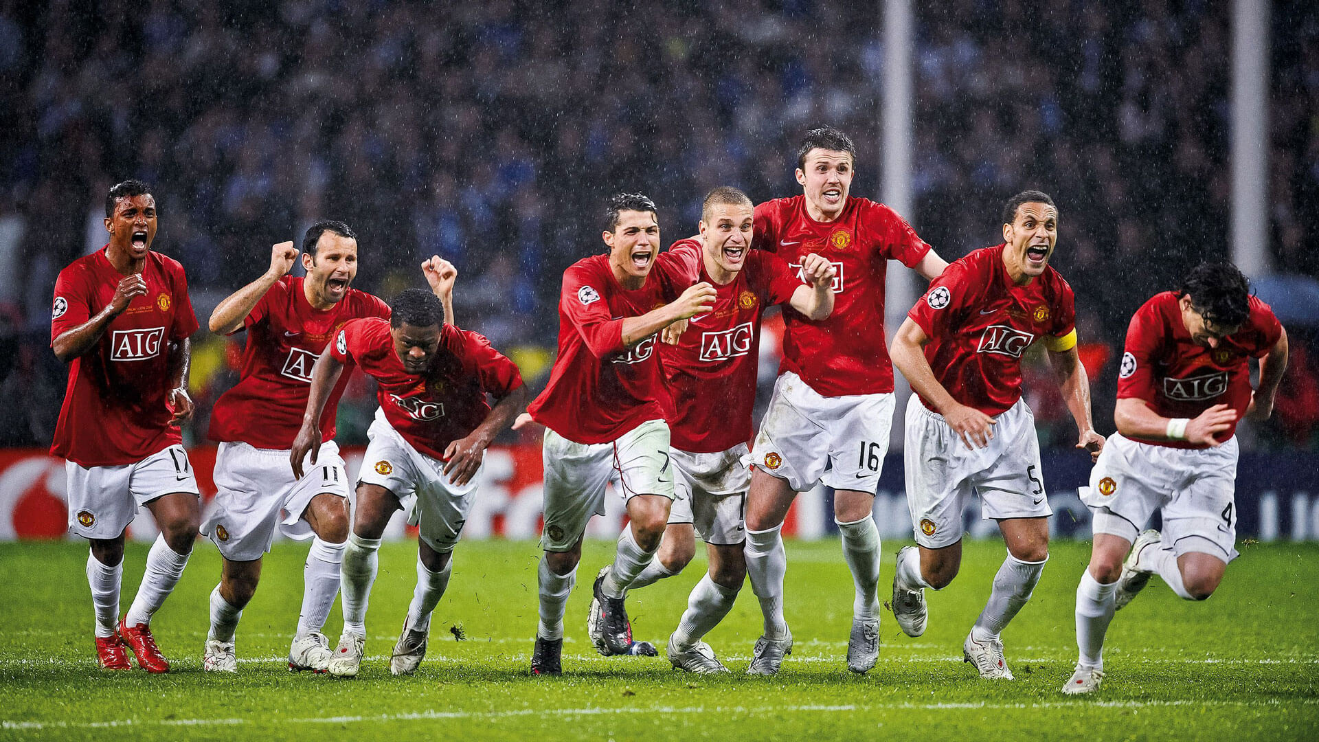 2008 Champions League Win