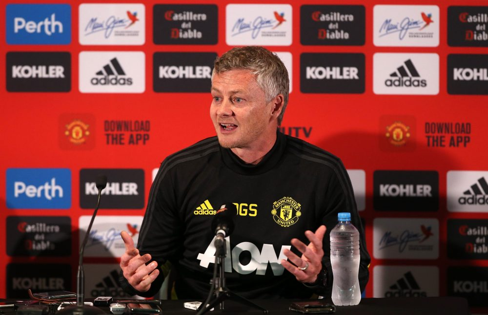 Ole Gunnar Solskjaer Press Conference