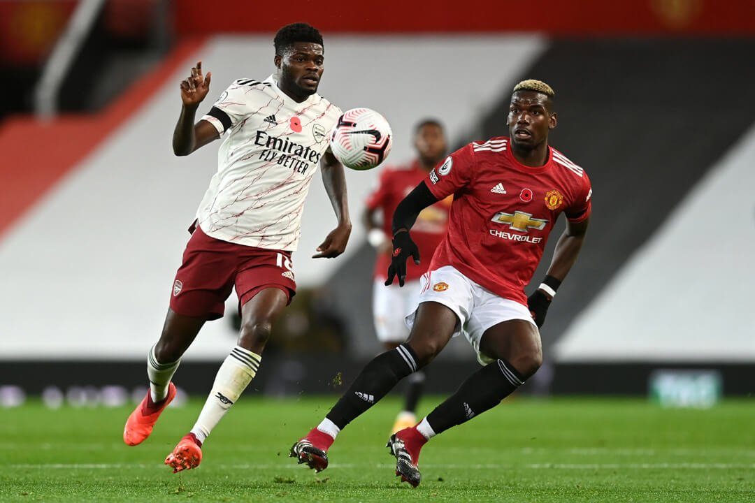 Paul Pogba against Arsenal