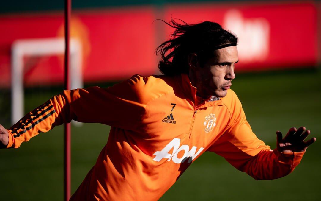 Edinson Cavani Injury Risk against Sheffield United