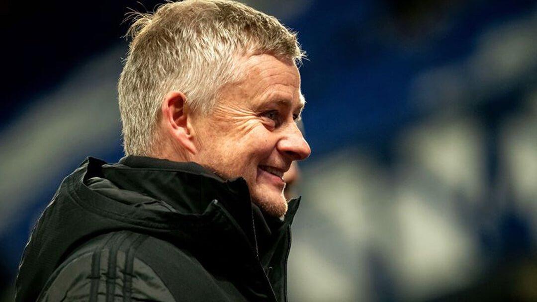 Ole Gunnar Solskjaer happy vs Everton
