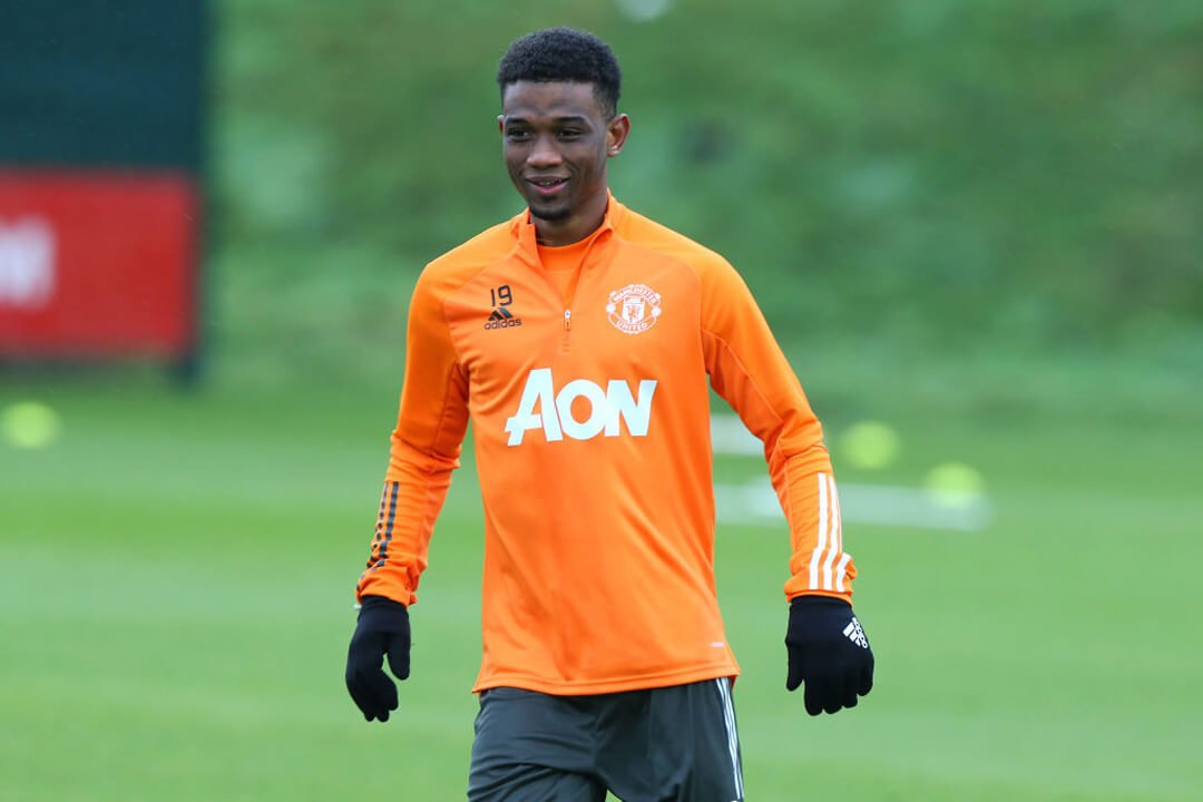 Amad Diallo waits to make Manchester United debut