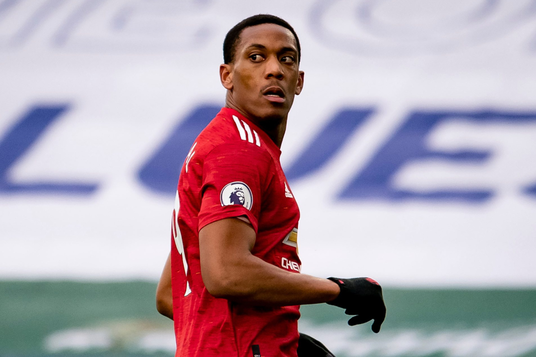 Anthony Martial to start against Sheffield United