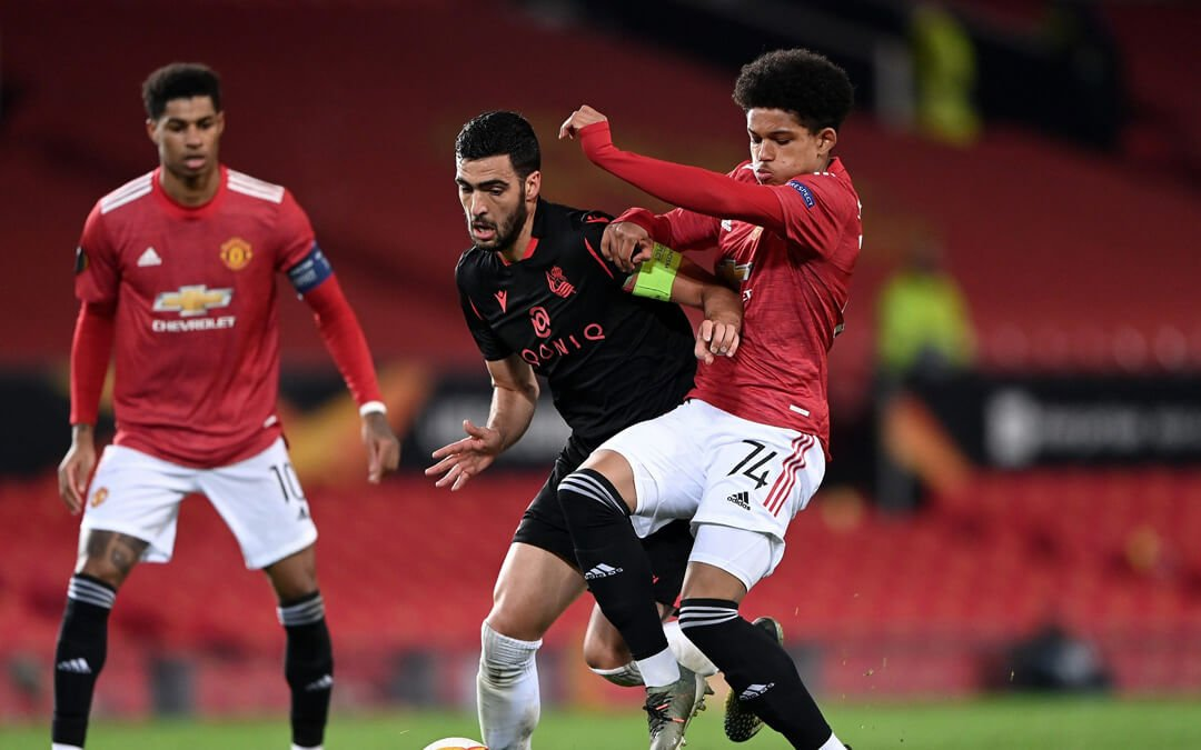Man Utd blood youngsters vs Real Sociedad