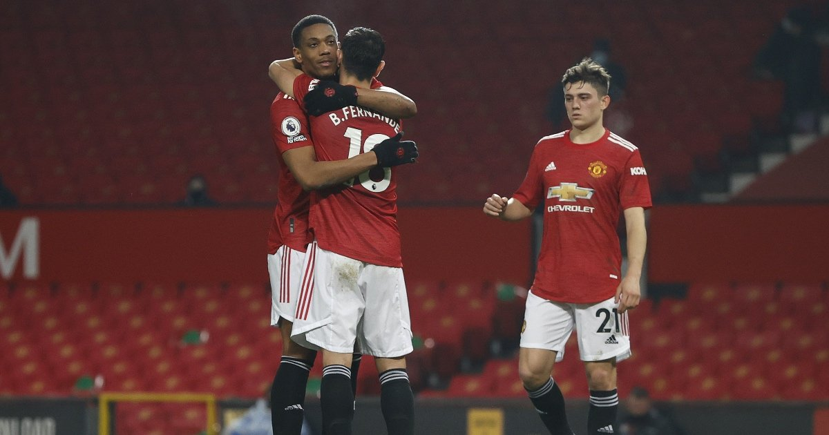 Anthony Martial back in form